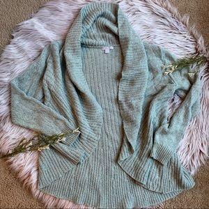 Light blue soft cardigan